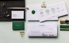 Branding Gemmyo by Le Goff et Gabarra design studio #designStudio #branding #identity #stationnery