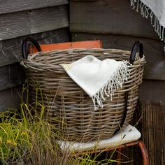 Rattan Riverside Basket in Sale SHOP House+Home at Terrain