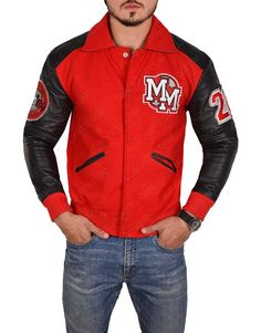 Pocket Craft, Cool Jackets, Michael Jackson, The Ordinary, Shirt Style, Mickey Mouse, Shop Now, Motorcycle Jackets, Leather Sleeves