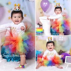 Rainbow Girls Tutu, First Birthday Tutu Outfit, Rainbow Baby Dress, Smash Cake Photo, Toddler, Baby, Newborn, 1st Birthday Fluffy Tutu #rainbowbaby #rainbowtutu #smashcakeparty #girlstutu #birthdayoutfit #babytutu #toddlertutu #infanttutu #smashcakephoto #girlsfirstbirthday #avarymaeinspirations
