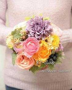 ママから指令「お爺ちゃんの誕生日にお花を❤」