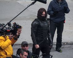 New Close-Up Shots Of Winter Soldier