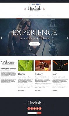 Hookah Website Design