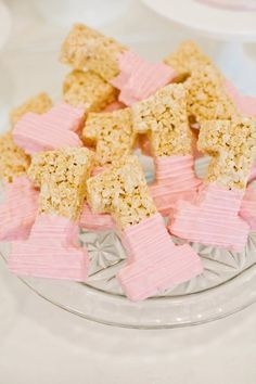 1st birthday-rice krispie treats More