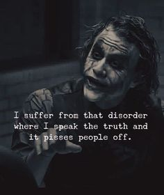 23 Joker quotes that will make you love him more 50 Most Powerful Strong Mind Quotes to Inspire You Dark Quotes, Wise Quotes, Mood Quotes, Inspirational Quotes, Pics With Quotes, Attitude Quotes, Speak The Truth Quotes, Hell Quotes, Motivational Quotes