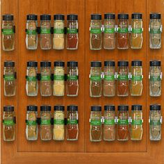 Amazon.com: SimpleHouseware 30 Spice Gripper Clips Strips Cabinet Holder - 6 Strips, Holds 30 Jars: Home Improvement Best Spice Rack, Spice Shelf, Spice Storage, Spice Organization, Kitchen Storage, Storage Racks, Camper Storage, Pantry Storage, Kitchen Pantry