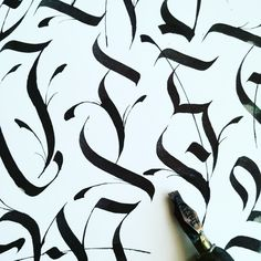 Calligraffiti practice and sketches