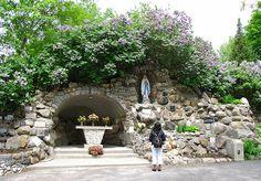 Lourdes grotto, Ottawa, Canada