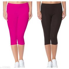 Capris Trendy Cotton Lycra Capris Leggings Fabric: Cotton Lycra Size: Up To 28 in to 36 in( Free Size) Length: Up To 34 in  Type: Stitched Description: It Has 2 Piece Of Women's Capris Pattern: Solid Country of Origin: India Sizes Available: Free Size, 24, 26, 28, 30, 32 *Proof of Safe Delivery! Click to know on Safety Standards of Delivery Partners- https://ltl.sh/y_nZrAV3  Catalog Rating: ★4 (2888)  Catalog Name: Alice Trendy Cotton Lycra Capris Combo Leggings CatalogID_136944 C79-SC1037 Code: 742-1110965-
