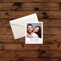 Printed on premium gloss stock.  These Fun Custom Polaroid Card Sets Includes:  • 12 (4 x 6) Flat Personalized Cards • Write on the backs or leave