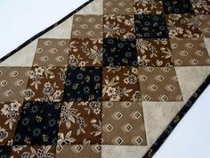 Reproduction Quilted Table Runner Table by ForgetMeNotQuilteds