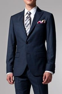 The Blue Sharkskin Suit   Indochino