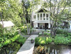 Coastal Muskoka Living Interior Design Ideas - Home Bunch - An Interior Design & Luxury Homes Blog ~ love!