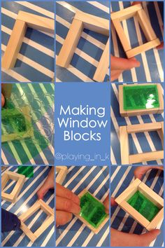 Via @playing_in_k a step-by-step on how to make window blocks.