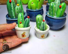 Sassi p-art: cactus