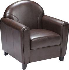 Envoy Series Brown Leather Chair