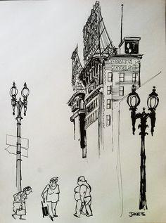 Urban Sketchers: Downtown L.A.