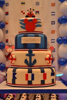 Disney cruise cake