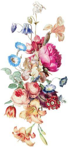 Resultado de imagem para tattoo flores vintage