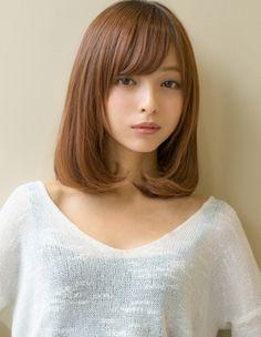 X - FILE Beautiful Japanese Girl, Japanese Beauty, Beautiful Asian Women, Asian Beauty, Medium Hair Styles, Short Hair Styles, Asian Hair, Cute Beauty, Girl Hairstyles