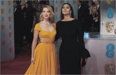 Lea seydoux monica bellucci at ee british academy film awards British Academy Film Awards, Indian Pictures, Strapless Dress Formal, Formal Dresses, Monica Bellucci, Celebrity Pictures, Funny Images, Celebrities, Celebrity