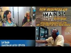 New Business on Main Street with Russ, Halley and Special Guest Lori