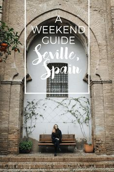 A Weekend Guide to Seville, Spain. Such a beautiful arch at the Seville Cathedral.