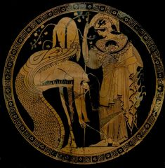 Etruscan plate  c. 500 BCE.