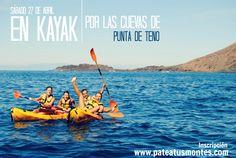 Kayak en Punta de Teno, Tenerife. Patea Tus Montes.