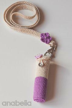 Lipstick crochet cov