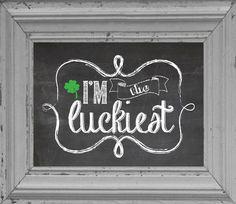 Patrick's Day Chalkboard print Digital by jisforjordy on Etsy Chalkboard Doodles, Chalkboard Decor, Chalkboard Drawings, Chalkboard Print, Chalkboard Lettering, Chalkboard Designs, Blackboard Art, Kitchen Chalkboard, Chalkboard Quotes