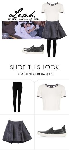 """""""Leah (Nadine Lustre)"""" by kayla-santella ❤ liked on Polyvore featuring Max Studio, Topshop and Diane Von Furstenberg"""