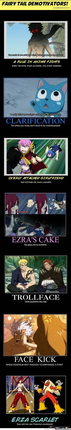 "There's a part that says ""Ezra""...be gone meme, before Erza Scarlet comes to get you."