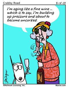 Aging like a fine wine....
