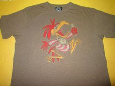 JUNK FOOD  T  Shirt Size XL -  Beige - CUCKOO FOR COCOA PUFFS Cereal #JunkFood #GraphicTee