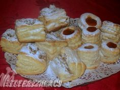 Hájas sütemények