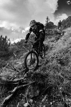Fuji Xpro 1 als idealer Outdoor Begleiter beim Alpine Mountainbiking
