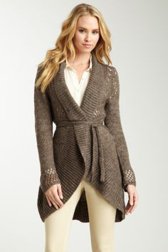 Chaudry // Knit Robe Cardigan