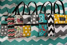 large pouches from Elisalou Designs