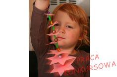 Strefa Dzieci - Choinka z papieru i koralików jako świąteczna dekoracja
