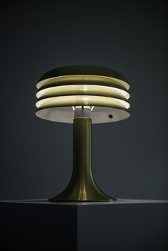 Hans-Agne Jakobsson table lamps model BN-26 | via Studio Schalling