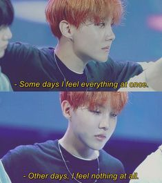 please remember it's not his job to always be happy, he feels this way sometimes Jhope, Bts Lyrics Quotes, Bts Qoutes, Mood Quotes, Life Quotes, V And Jin, Bts Texts, Quotes That Describe Me, Quote Aesthetic