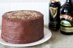 Chocolate Stout Cake with Baileys Ganache