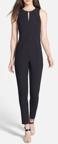 black stretch jumpsuit http://rstyle.me/n/msd8apdpe