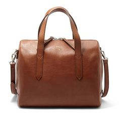 $178 - Brown Fossil Sydney Satchel ZB5486P - small purses for sale ...