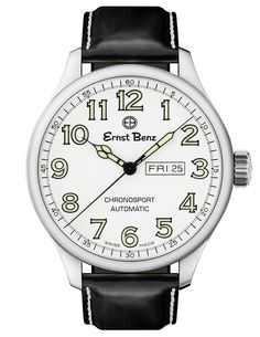 Buy and sell luxury watches on StockX including the Ernst Benz Chronosport in Stainless Steel and thousands of other luxury watches from top brands. Men's Watches, Cool Watches, Wrist Watches, Fashion Watches, Analog Watches, Latest Watches, Timex Watches, White Watches For Men, Swiss Army Watches
