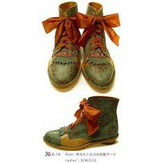 キモい ❤ liked on Polyvore featuring shoes, boots and ankle booties