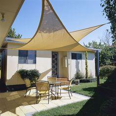 outdoor sun shade sail HDPE triangles Sun shading net anti uv awning canopy gazebo for garden toldo garden balcony Triangle Shade Sail, Sun Sail Shade, Shade Sails, Triangle Shape, Backyard Shade, Patio Shade, Outdoor Shade, Shade Garden, Diy Terrasse