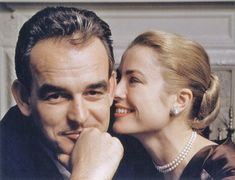 MONACO: Grace Kelly and Prince Rainier, Happy and beautiful, a tribute to life and love. Bing Crosby, Gary Cooper, Ava Gardner, Cary Grant, Clark Gable, Alfred Hitchcock, Celebrity Couples, Celebrity News, Prince Of Monaco