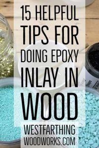 These are the best tips for doing epoxy inlay, and they will help you create som. - Woodworking Tips - These are the best tips for doing epoxy inlay, and they will help you create some of the best looki - Awesome Woodworking Ideas, Woodworking For Kids, Woodworking Joints, Woodworking Workbench, Woodworking Workshop, Woodworking Techniques, Woodworking Shop, Woodworking Projects, Woodworking Furniture